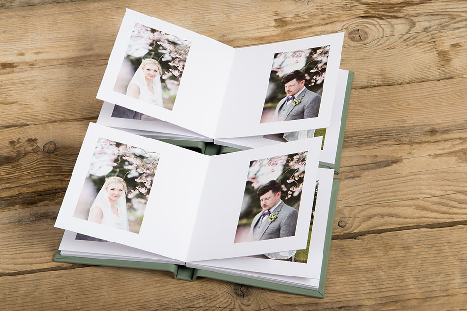 mini parent wedding albums