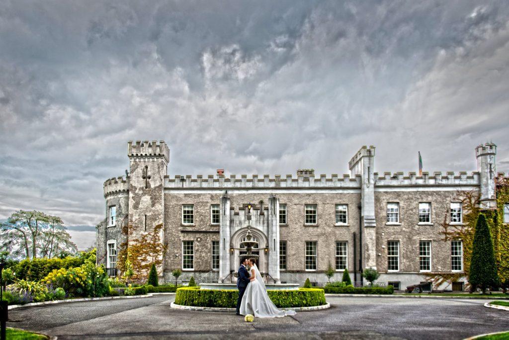 belling castle wedding photo