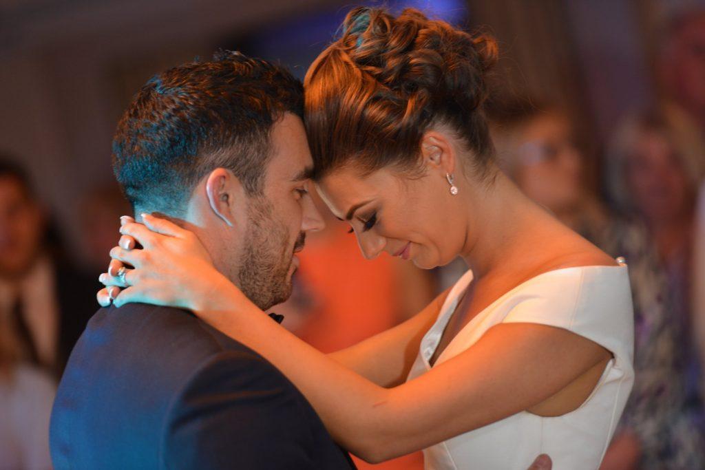 bride and groom dance wedding ireland