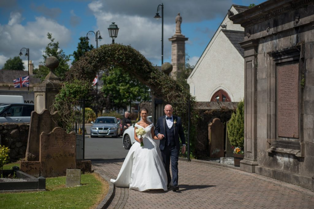 father daughter wedding northern ireland