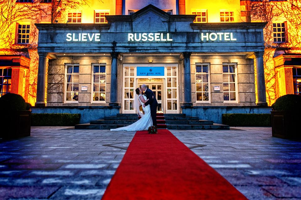 slieve Russell hotel wedding photo
