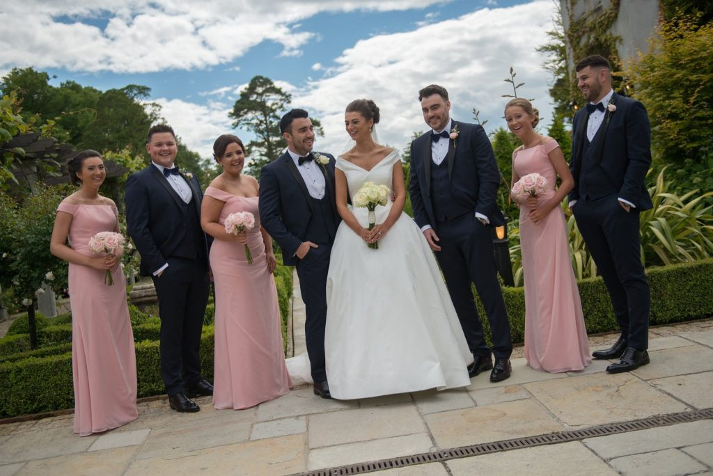 wedding bridal party ireland