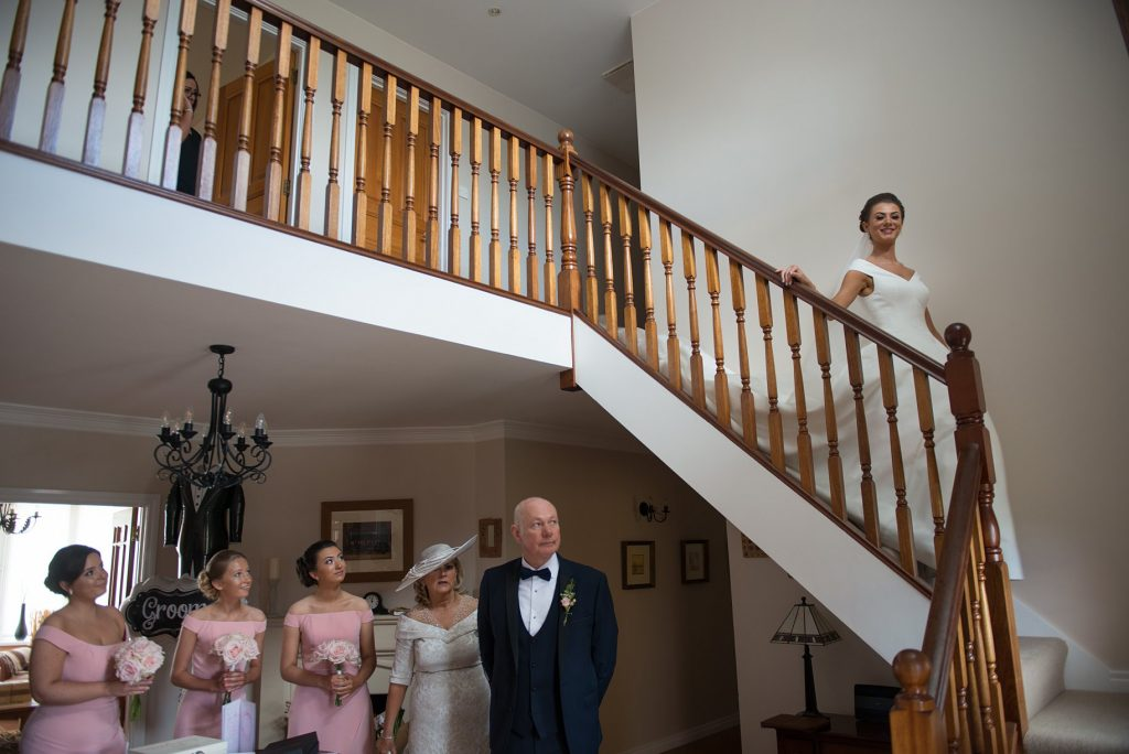 wedding dress reveal northern ireland